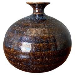 Studio Pottery Signed Vase, circa 1970