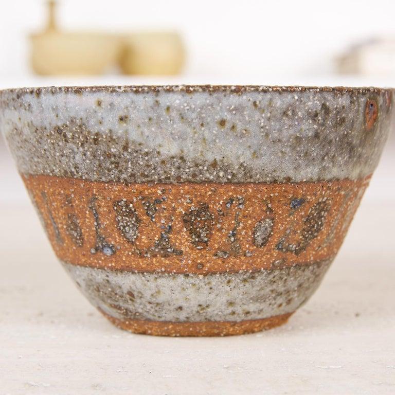 Ceramic Studio Pottery Stoneware Bowl For Sale