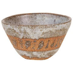 Studio Pottery Stoneware Bowl