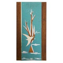 Studio Ran Su Mid-Century Modern Wood Wall Art Handcrafted, Elmhurst, NY