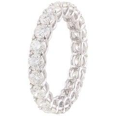 Studio Rêves Diamond Band Ring in Platinum