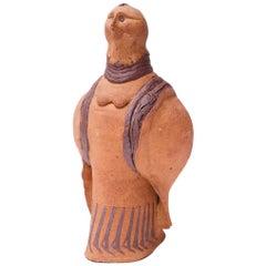 """Studio Stoneware """"Pigeon"""" Sculpture Attributed to Polk"""
