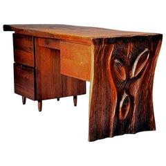 Studio Walnut Desk by Phillip Lloyd Powell