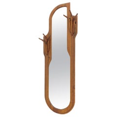 Studio Walnut Mirror by Charles B. Cobb