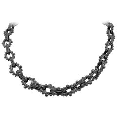 Studs Silver Necklace