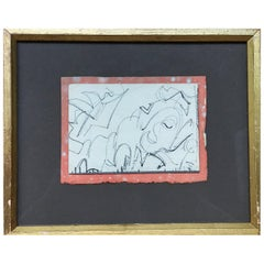Study for a Painting, Untitled Drawing by William Littlefield