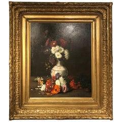 Study of Flowers by Hippolyte Pierre Delanoy