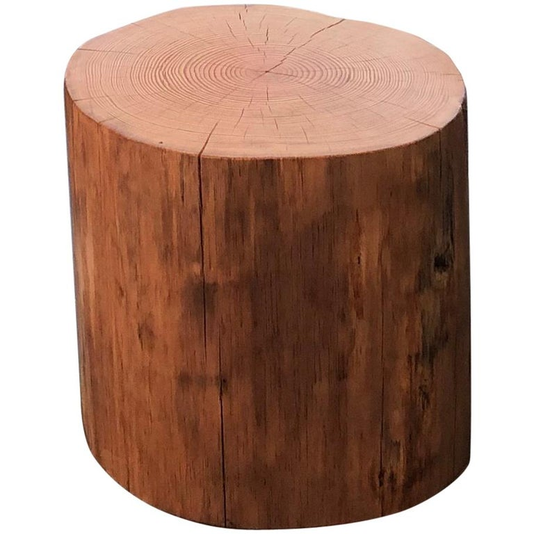 Stump Side Table For Sale