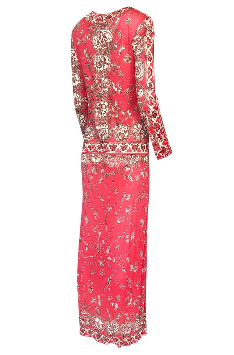 There is nothing that beats the work of Emilio Pucci. His colors and prints were mixed with a masterful hand and when you get a good one it is a piece that you will wear for a lifetime. This is one of the good ones and is an absolutely gorgeous