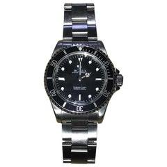 Stunning 1997 Rolex 14060 Submariner Wristwatch Box Lanyard Date Card Manuals
