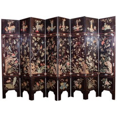 Stunning 19th Century Chinese Coromandel Screen