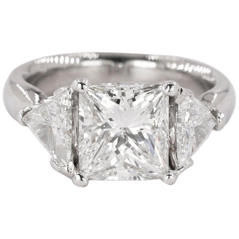 Stunning 3.03 Carat Diamond Ring For Sale