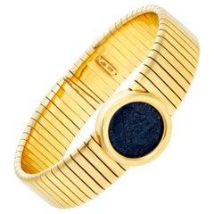 Stunning Ancient Coin Bracelet in 18 Karat