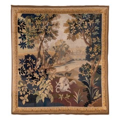 Stunning Antique French Tapestry, circa 1880s