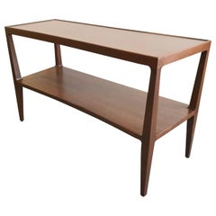 Stunning Architectural Console Table by Edward Wormley for Dunbar