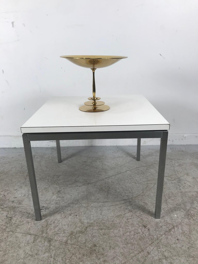 Stunning Art Deco Brass Compote/Centerpiece by A.G. Bunge, Germany In Good Condition For Sale In Buffalo, NY