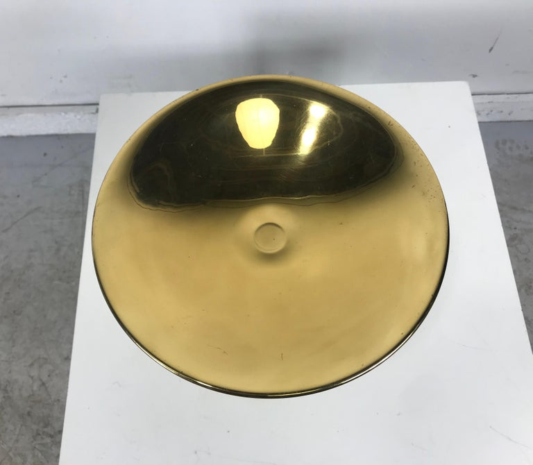 Stunning Art Deco Brass Compote/Centerpiece by A.G. Bunge, Germany For Sale 1