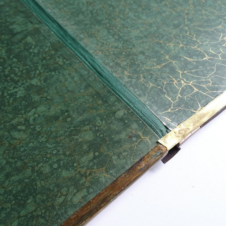 Antique Art Deco Document & Letter Holder, Brass & Rosewood 9