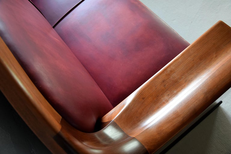 Art Deco Mahogany Sofa by the Royal Danish Furniture Maker C.B. Hansens For Sale 10