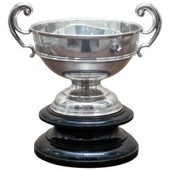 Stunning Asprey & Co Ltd Trophy Cup & Base Sterling Silver Fully Hallmarked 1907