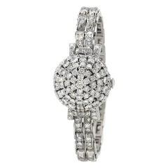 Stunning Beautiful Platinum with Diamonds Watch