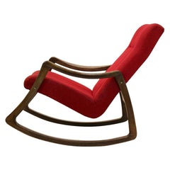 Stunning Beechwood Rocking Chair by TON