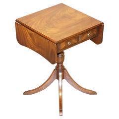 Stunning Bevan Funnell Extending Hardwood Side End Lamp Wine Card Table