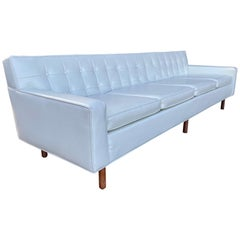 Stunning Button Tufted 4-Seat Sofa by Milo Baughman for Thayer Coggen