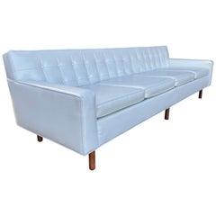 Stunning Button Tufted 4-Seat Sofa by Milo Baughman / Thayer Coggen
