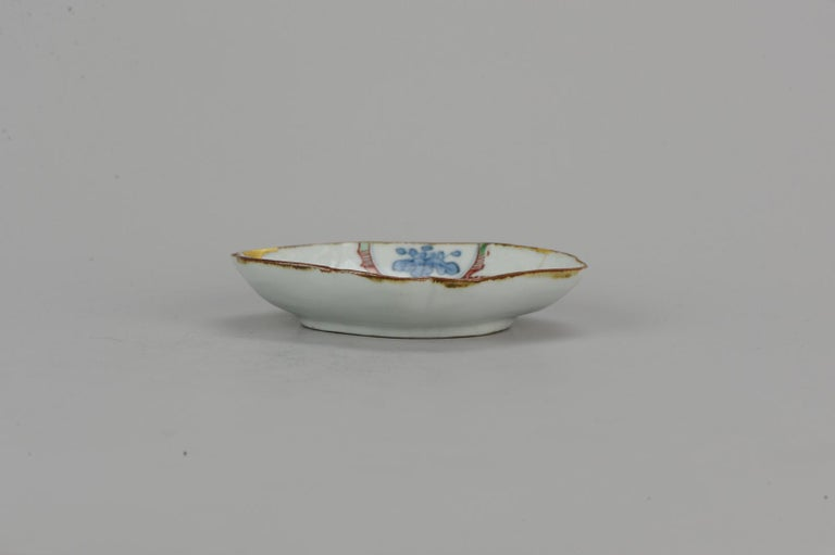 Stunning circa 1640-1650 Japanese Porcelain Plate with Mark Antique Ko-Kutani For Sale 4