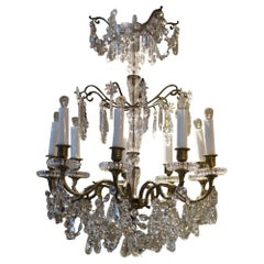Stunning Chandelier-Baccarat Crystal
