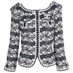 Stunning Chanel Lesage Metallic Fantasy Tweed Jacket Blazer