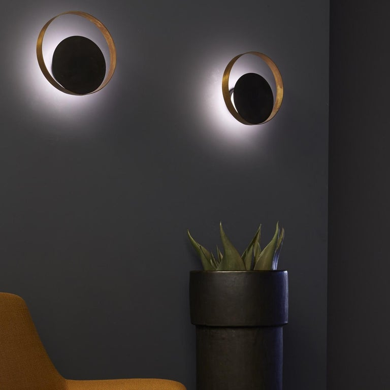 Other Stunning Circle Wall Lamp For Sale