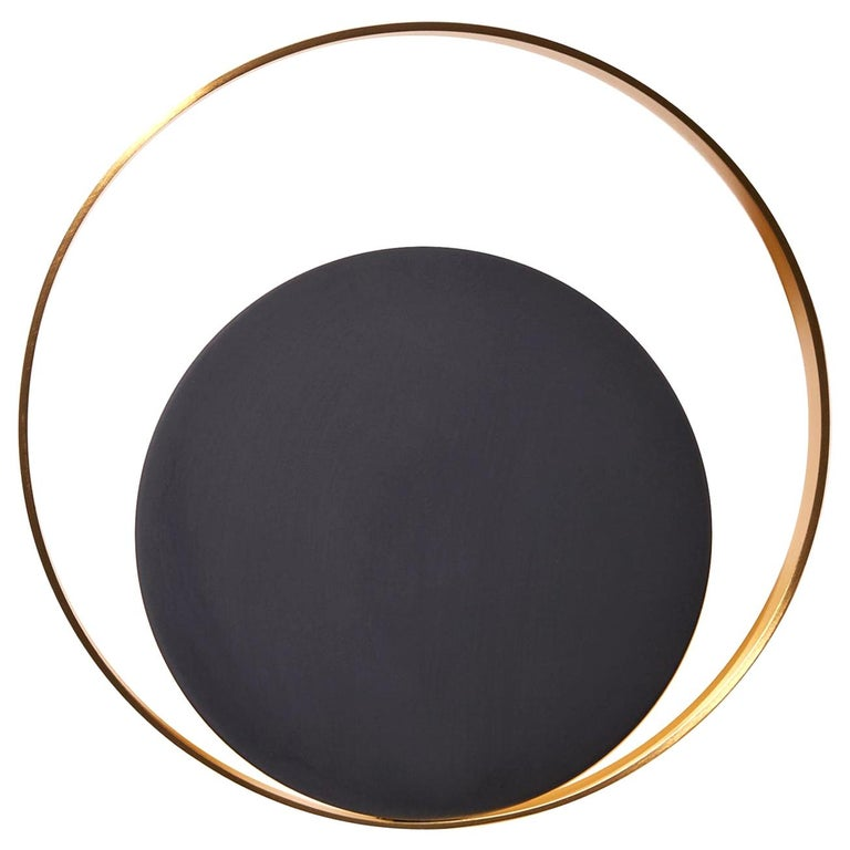 Stunning Circle Wall Lamp For Sale