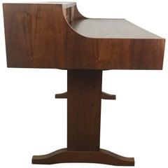 Stunning Danish Modern Teak Desk Attributed to Peter Løvig Nielsen Dansk