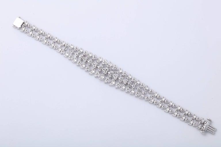 Women's Stunning Diamond Bracelet For Sale