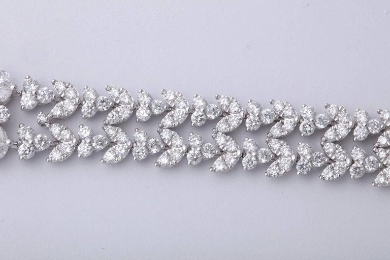 Stunning Diamond Bracelet For Sale 1