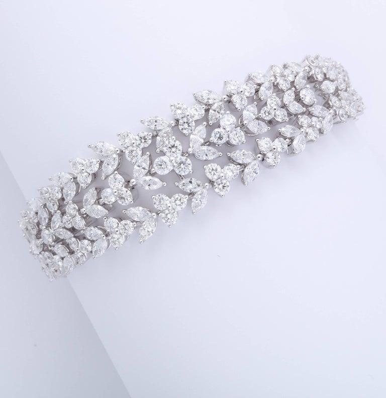 Stunning Diamond Bracelet For Sale 2