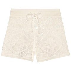 Stunning Emilio Pucci Crochet Knit Shorts Pants