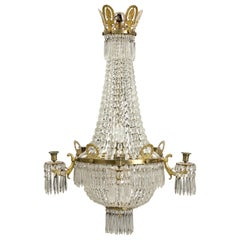Stunning Empire 19th Century Chandelier