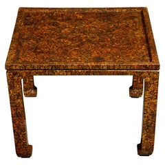Stunning Exotic Wood Antique Breakfast Table or Center Table