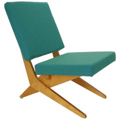 Stunning FB18 Scissor Chair by Jan Van Grunsven for UMS Pastoe, 1955