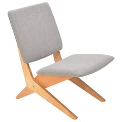 Dutch Mid-Century Modern FB18 Scissor Chair by Jan Van Grunsven for UMS Pastoe