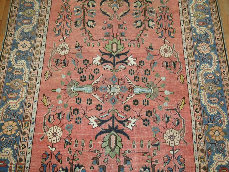 Stunning Floral Motif Persian Malayer Carpet, 20th Century For Sale 3