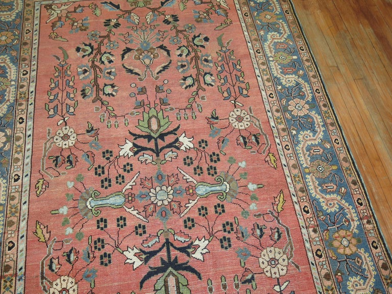 Stunning Floral Motif Persian Malayer Carpet, 20th Century For Sale 4