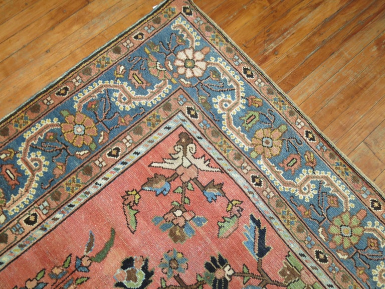 Stunning Floral Motif Persian Malayer Carpet, 20th Century For Sale 1