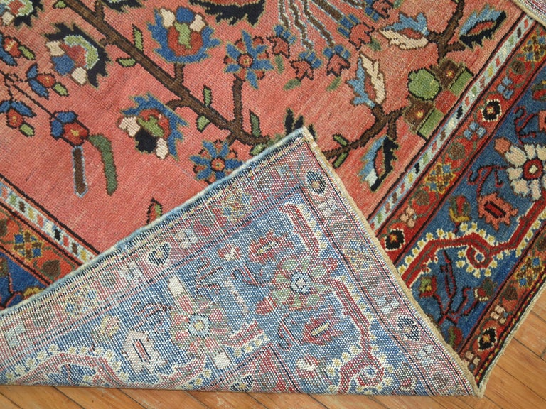 Stunning Floral Motif Persian Malayer Carpet, 20th Century For Sale 2