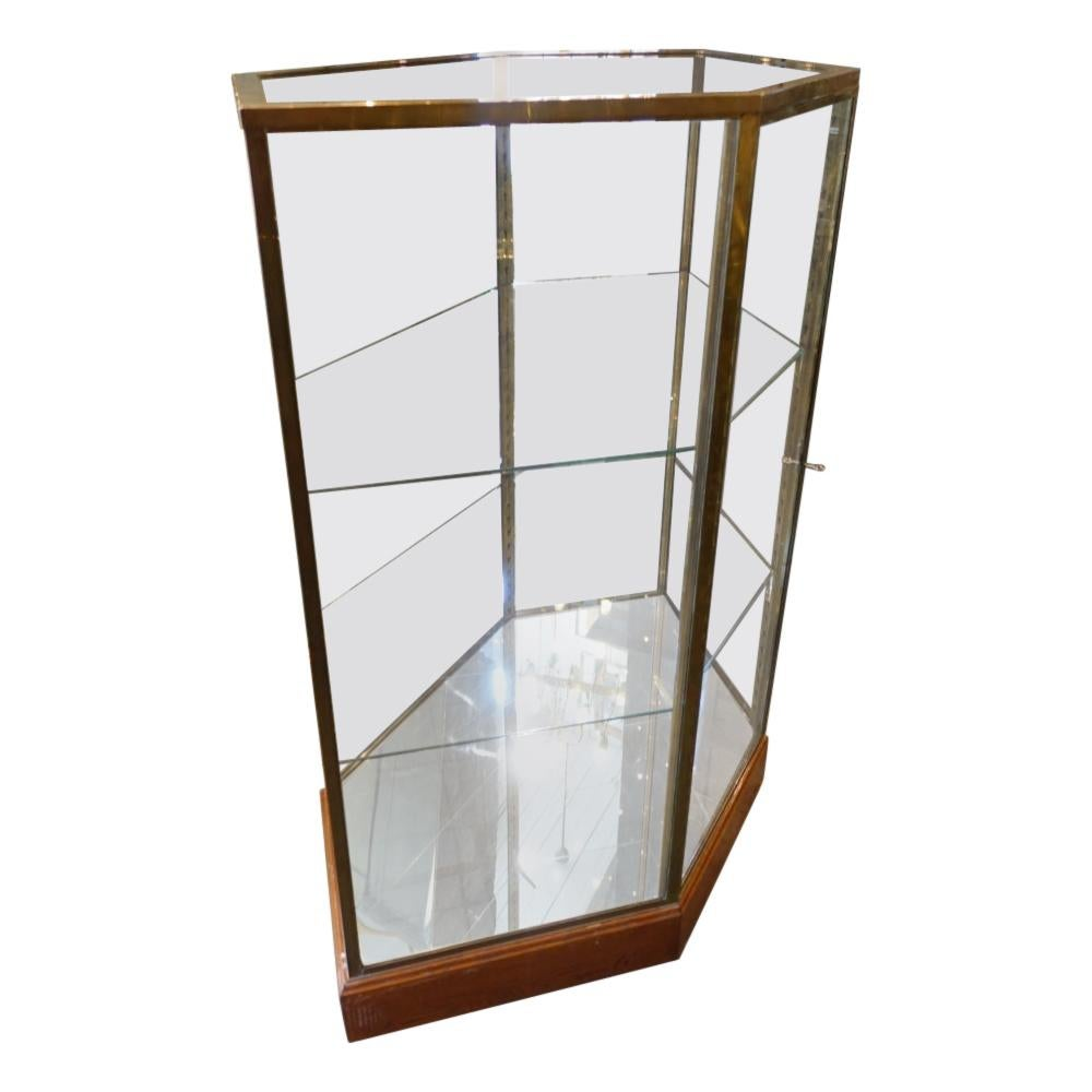 Stunning French 6 Sided Showcase / Display Cabinet