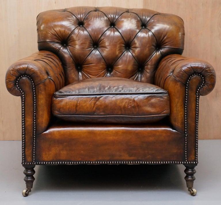 Stunning George Smith Bulgari Aged Cigar Brown Leather ...