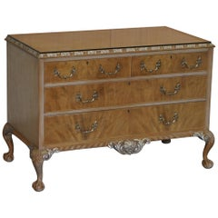 Stunning Gillows Vintage Chest of Drawers Ornate Claw & Ball Feet Part of Suite